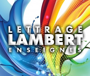 Logo Lettrage Marc Lambert