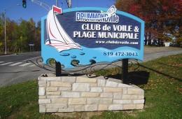 Club de Voile – Enseigne Muret
