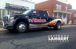 Remorquage Pinard – Lettrage véhicule