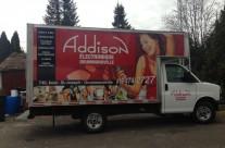 Addison – Lettrage cube