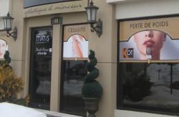 Institut Matis – Habillage de vitrine