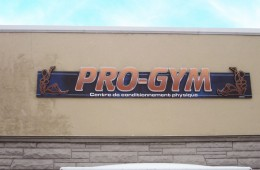 Pro-Gym – Enseigne