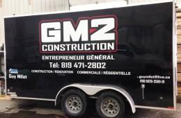 GM2 Construction – Lettrage